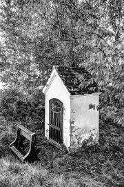 Little Chapel 3 (Black & White Natural)