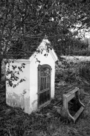Little Chapel 4 (Black & White Photographic)