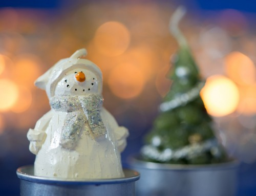 How to Create a Tabletop With Christmas Figures